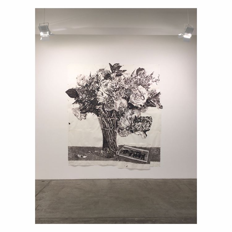 Awed by the monumental flowers of William Kentridge Continue Readinghellip