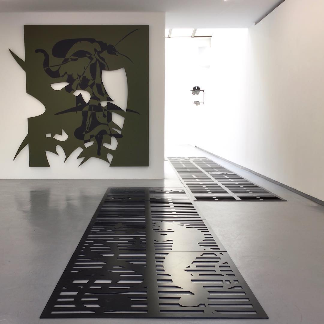 Impending apocalypse at gallery Valentin  bradfordkessler has filled thehellip
