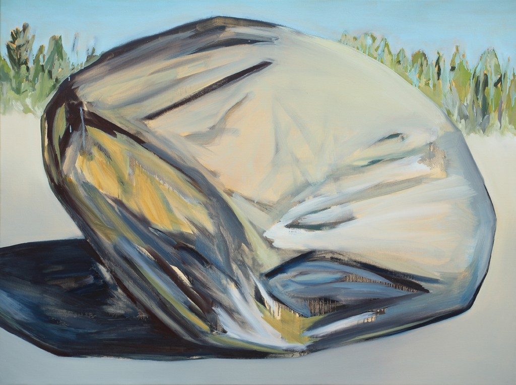 Rock / 130x97cm – 2015 / oil on canvas