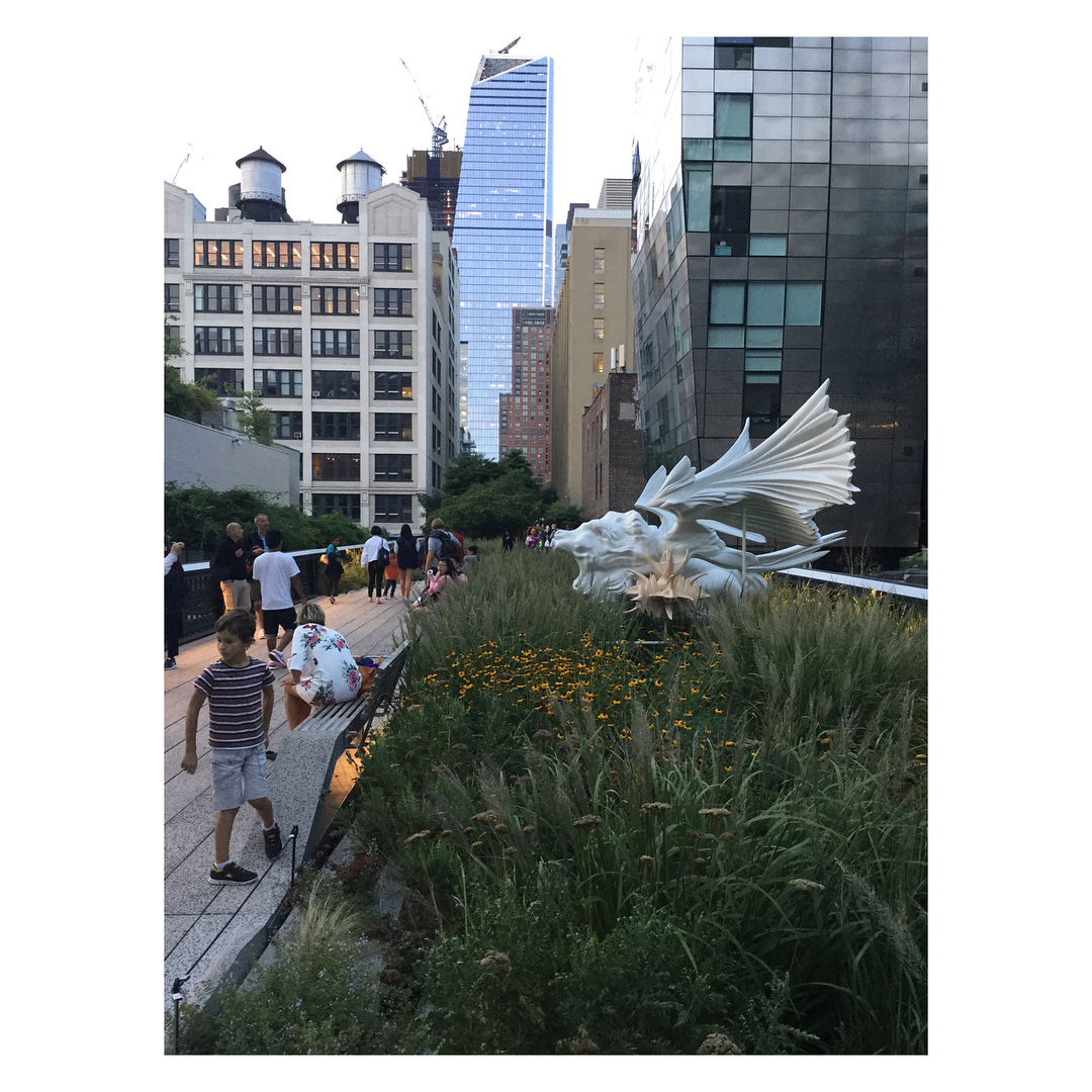 French art on the High Line  margueritehumeau Sphinx Joachimhellip