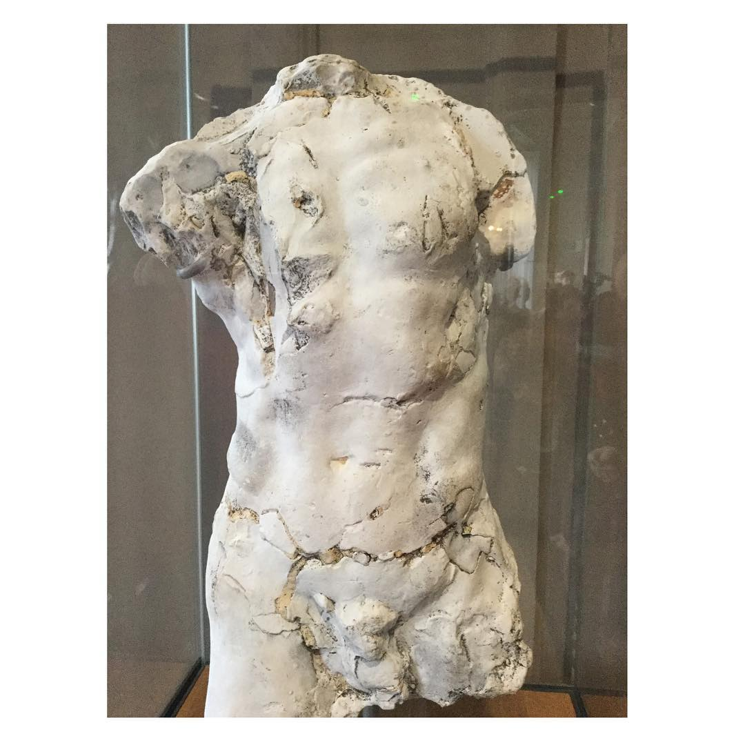 Rodin Plaster study for John the Baptist x2764xfe0fBefore 1887 hellip