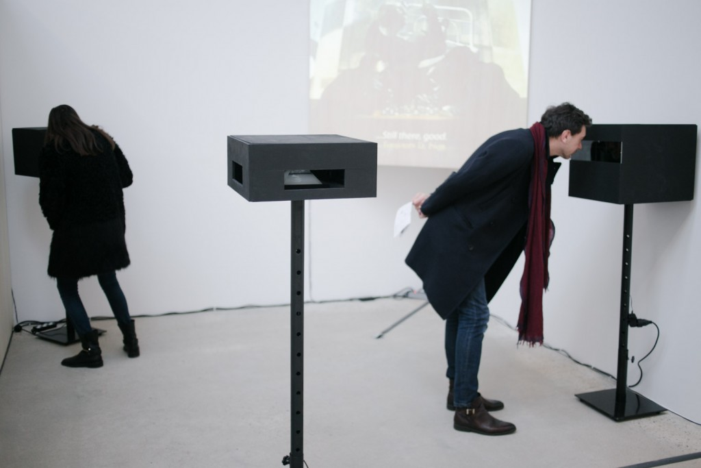 Installation at Gallery Ropac in Pantin, January 2016. Photo by Charlotte Gonzalez.
